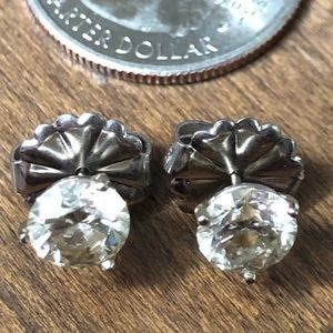 2.25ct Diamond Stud Earrings in 14k White Gold